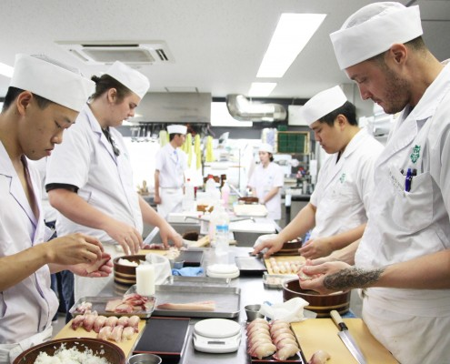 tokyosushiacademy sushischool sushi japan sushichef USA english Spain
